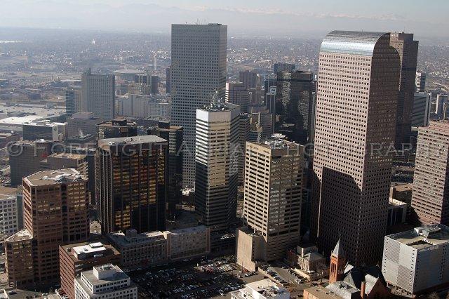 Aerial Photo Downtown Denver 6