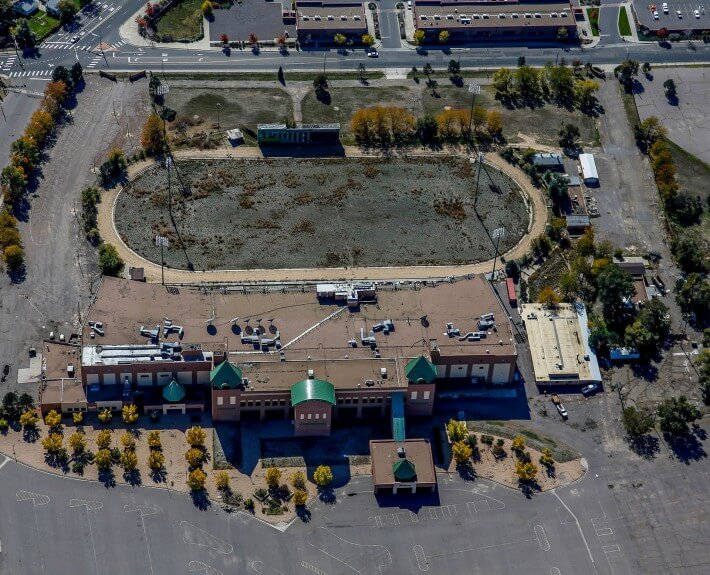 2-Mile-High-Greyhound-Park-Demolition-Progress-Denver-Aerial-Photography