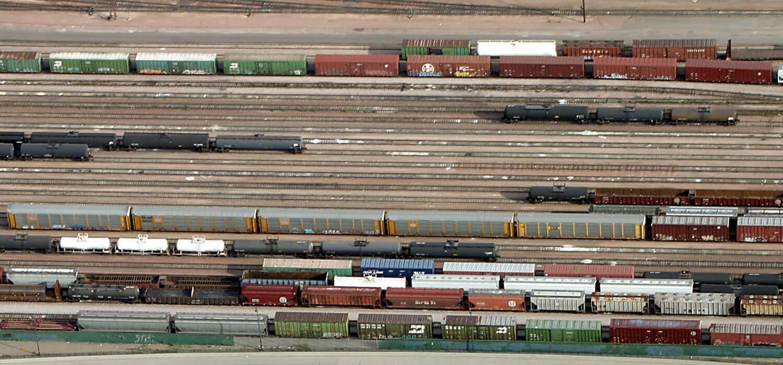 Aerial-Photo-Train-Yard-and-I-25-Denver