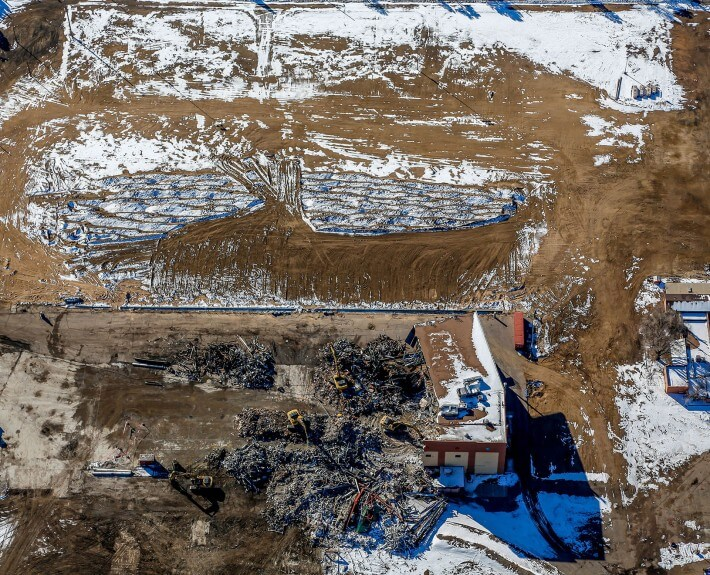 7-Mile-High-Greyhound-Park-Demolition-Progress-Denver-Aerial-Photography